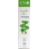 Dentifrice Fraicheur Menthe bio 75 ml - C'BIO dentifrice bio Aromatic provence