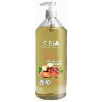 Shampooing douche Pêche blanche 1 Litre - C'Bio Ecocert, Aromatic Provence