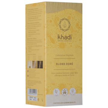 Coloration végétale Blond Doré 100 gr - Khadi