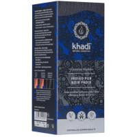 Coloration végétale Indigo Pur Noir Froid 100 gr - Khadi, coloration cheveux aromatic provence