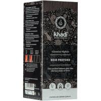 Coloration végétale Noir Profond 100 gr - Khadi aromatic provence