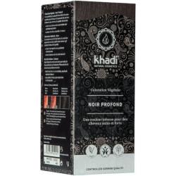 Coloration végétale Noir Profond 100 gr - Khadi