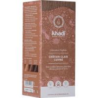 Coloration végétale Chatain Clair Cuivré 100 gr - Khadi aromatic provence