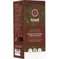 Coloration végétale Noisette Naturel Châtain foncé 100 gr - Khadi, coloration cheveux aromatic provence