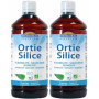 Duopack Ortie Silice en solution buvable 1L Biofloral