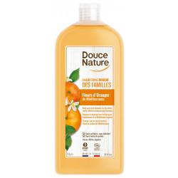Shampoing douche des familles Fleur d'Oranger Méditerranée 1L - Douce Nature