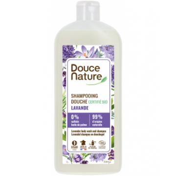 Shampoing Douche Provence Lavande de la Drôme 1L - Douce Nature