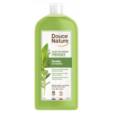Shampoing Douche Provence Verveine de l'Ardèche 1L - Douce Nature