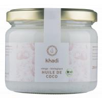 Huile de Coco extra vierge 250 gr - Khadi coco du kerala soin capillaire Aromatic Provence