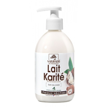 Lait corporel Karité peau sèche 500ml - Naturado