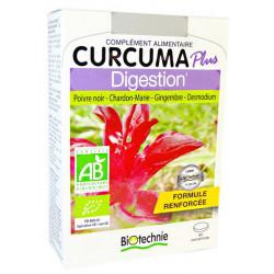Curcuma Plus Digestion Bio 60 comprimés - Biotechnie