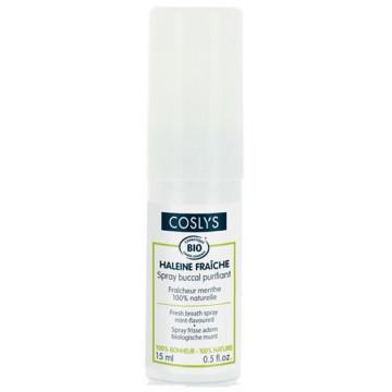 Spray buccal purifiant haleine fraîche à la menthe 15 ml - Coslys