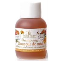 Shampoing douceur de miel 30% de miel Grand cru 50 ml - Ballot Flurin - Hygiène bio - Aromatic Provence