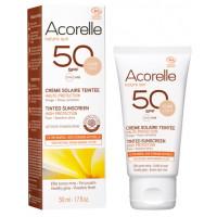 Crème Solaire teintée SPF 50 clair 50ml - Acorelle Aromatic provence