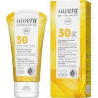Crème solaire anti âge sensitive SPF 30 50ml - Lavera Naturkosmetik pigments minéraux Aromatic provence