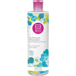 Eau nettoyante démaquillante bio Pureté Florale 400 ml - BcomBio