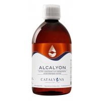 CALQUYON oligo éléments ionisés naturels 500 ml Catalyons - solution buvable d'oligo-éléments acido-basique