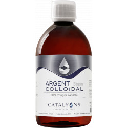 ARGENT colloidal 5 PPM 500ml - Catalyons