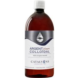 Argent colloïdal Oligo élément 20 PPM 1000ml Catalyons