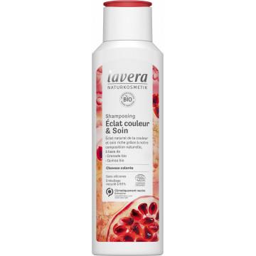 Shampoing éclat couleur et soin 250ml - Lavera