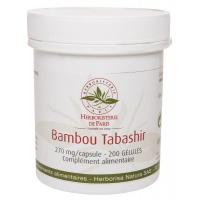 Bambou Tabashir 200 gélules - Herboristerie de Paris silicium organique Aromatic Provence