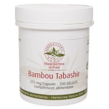 Bambou Tabashir 200 gélules - Herboristerie de Paris
