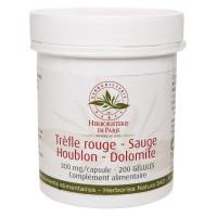 Trèfle rouge Sauge Houblon Dolomite 200 Gélules - Herboristerie de Paris Ménopause Aromatic Provence