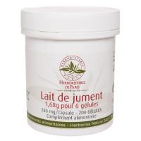 Lait de Jument 200 Gélules - Herboristerie de Paris nutrition et vitalité Aromatic Provence