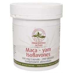 Maca yam Isoflavones 200 gélules - Herboristerie de Paris