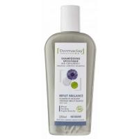 Shampooing Reflets et Brillance 250ml - Dermaclay,   Shampoings cheveux blancs, gris et colorés,  Shampoing bio