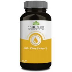 DHA Plus 250mg Omega 3 - 60 capsules Equi-Nutri