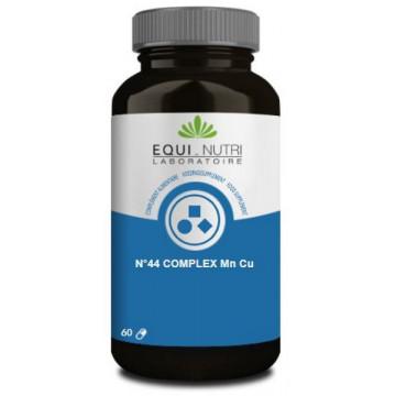 No 44 Complex Manganèse Cuivre Mn Cu 60 gélules végétales - Equi Nutri