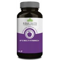 No 12 Multi Vitamines Plus Ginseng 90 gélules végétales - Equi Nutri complexe vitamininique Aromatic provence