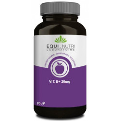 Vitamine E Naturelle 20mg 90 gélules végétales - Equi Nutri