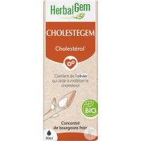 Cholestegem Bio Flacon compte gouttes 50 ml - Herbalgem lipides circulants Aromatic provence