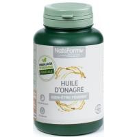 Huile d'onagre 120 capsules - Nat et Form acide gamma liniolénique Aromatic provence