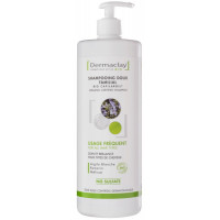 Shampooing doux familial usage fréquent Argile blanche 1 litre Dermaclay shampoing familial Aromatic Provence