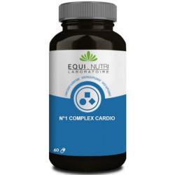 No 1 Complex Cardio 60 gélules végétales - Equi Nutri