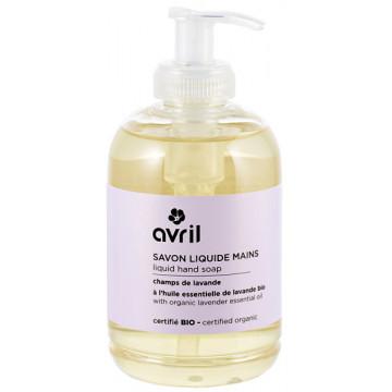 Savon liquide Mains Champs de lavande 300 ml - Avril Beauté