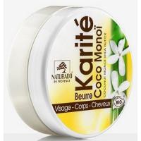 Beurre de Karité coco monoi 150 ml - Naturado - beurre de karité bio Aromatic Provence