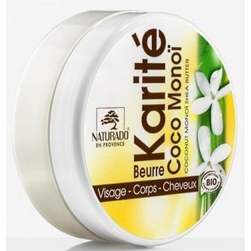 Beurre de Karité Coco Monoï 150ml - Naturado