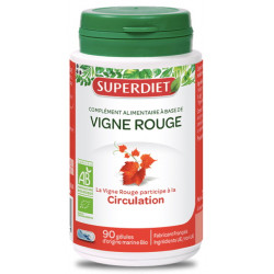 Vigne Rouge bio 90 gélules - Super Diet
