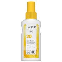 Spray solaire sensitive SPF 20 100 ml - Lavera protectkion moyenne Aromatic provence