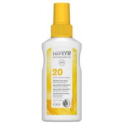 Spray solaire sensitive SPF 20 100 ml - Lavera