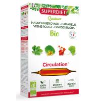 Quatuor Circulation Marronnier, Hamamélis, Vigne Rouge et Ginkgo - Super Diet Aromatic Provence