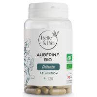 Aubépine bio 120 gélules - Belle et bio palpitations pl&énitude et sérénité Aromatic Provence