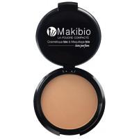 Poudre compacte Dorée 9 gr - Makibio maquillage bio du teint Aromatic provence