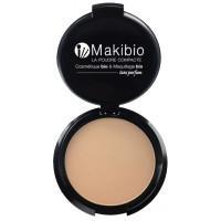 Poudre compacte Nude Naturel 9 gr - Makibio harmonie et naturel Aromatic provence