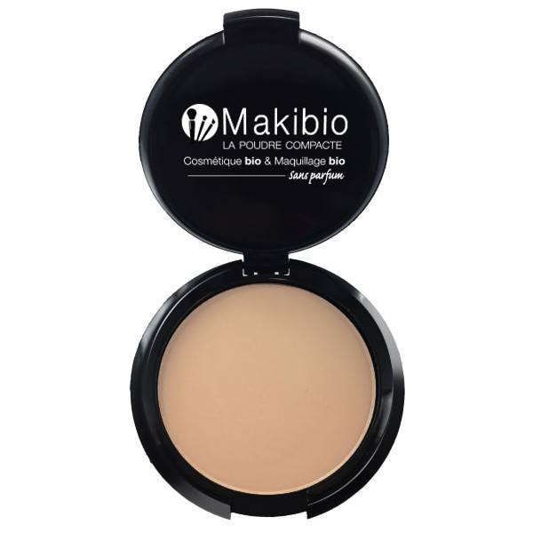 Poudre compacte Nude Naturel 9 gr Makibio maquillage