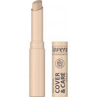 Correcteur stick Cover and Care Ivoire 01 1.7gr - Lavera Aromatic provence maquillage bio du teint